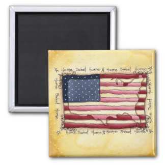 american home sweet home magnet