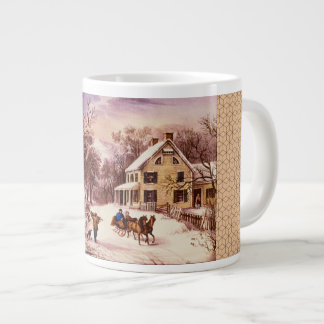 American Homestead Winter Specialty Mug