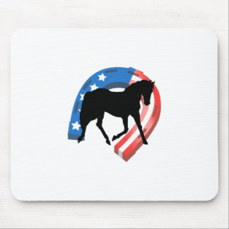 AMERICAN HORSE SHOE MOUSE PAD