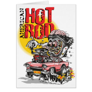 american hot rod card