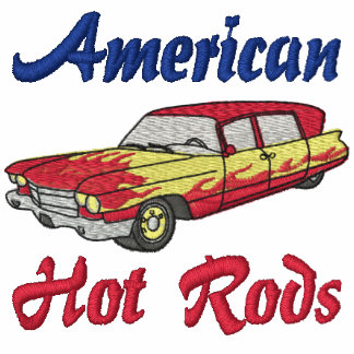 American Hot Rods Embroidered Shirt