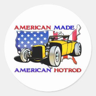 American Hotrod 1 Classic Round Sticker