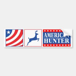 American Hunter Bumper Sticker