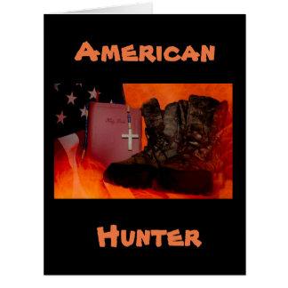 American Hunter Card
