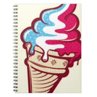 American Ice-Cream Notebook