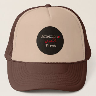 American Ideals First Truckers Cap