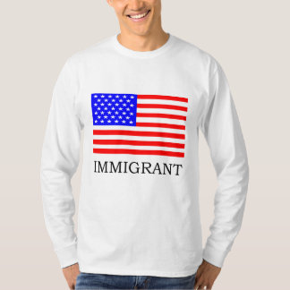 American Immigrant Longsleeve T-shirt