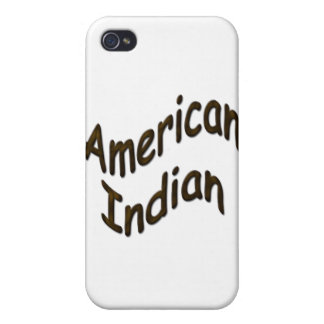 American Indian cammo iPhone 4/4S Covers