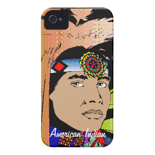 American Indian Blackberry Bold Cases