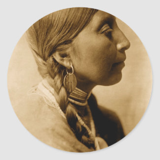 American Indian Collection Classic Round Sticker