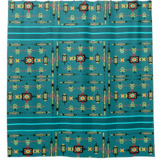 American Indian Designs Shower Curtain