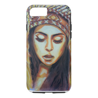 American Indian Girl iPhone 8/7 Case