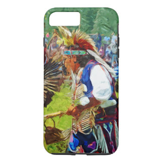 American Indian Pow Wow Dancer Abstract iPhone 7 Plus Case