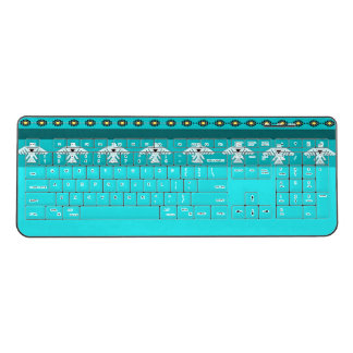 American Indian Thunderbird Wireless Keyboard