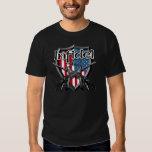 American Infidel: English and Arabic Text AR15 Tshirts