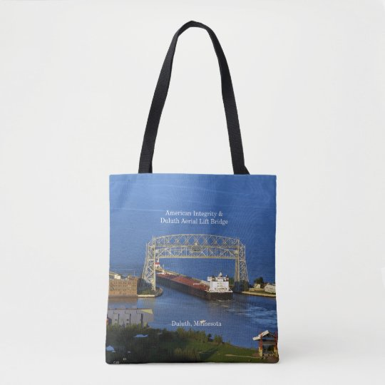 American Integrity Duluth all over tote bag