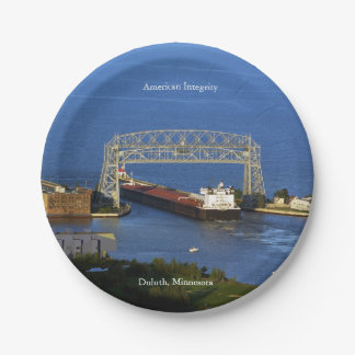 American Integrity Duluth paper plate
