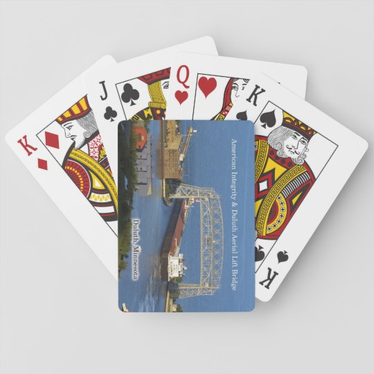 American Integrity Duluth playing cards