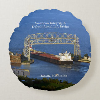 American Integrity Duluth round pillow
