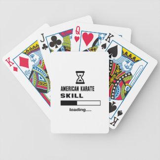 American Karate skill Loading...... Poker Deck