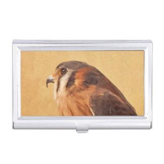 American Kestrel Business Card Holder