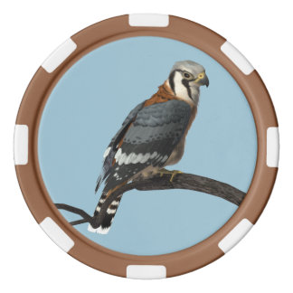 American Kestrel Clay Poker Chip Poker Chips Set
