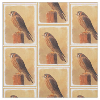 American Kestrel Fabric