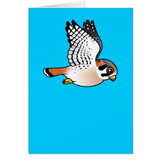 American Kestrel in flight Card