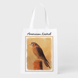 American Kestrel Reusable Grocery Bag