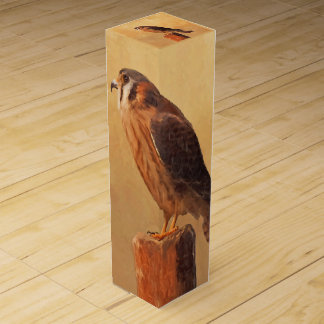 American Kestrel Wine Gift Box