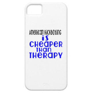 American kickboxing Is Cheaper  Than Therapy iPhone 5 Covers