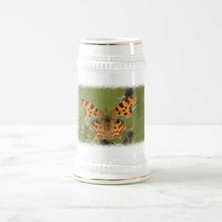 American Lady Butterfly Beer Stein Mugs