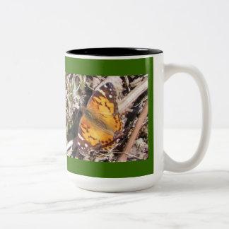 American Lady Butterfly Mug