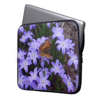 American Lady Butterfly Neoprene Laptop Sleeve