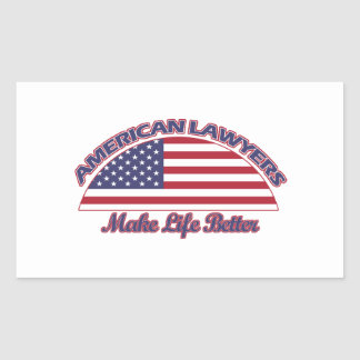 american Lawyers designs Sticker