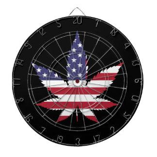 American Leaf Dart Board