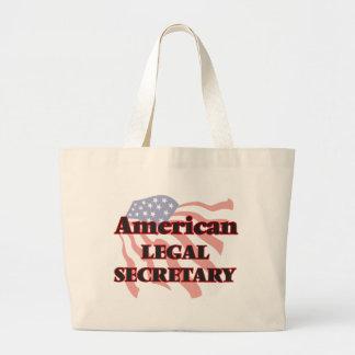 American Legal Secretary Jumbo Tote Bag