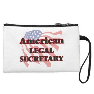American Legal Secretary Wristlet Clutches