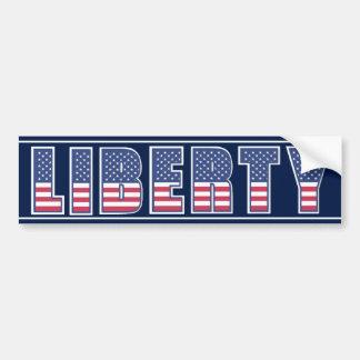 American Liberty Bumper Sticker