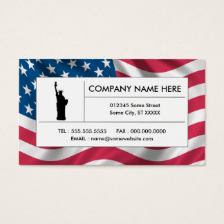 american liberty business card
