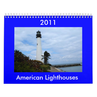 American Lighthouse Calendar 2011