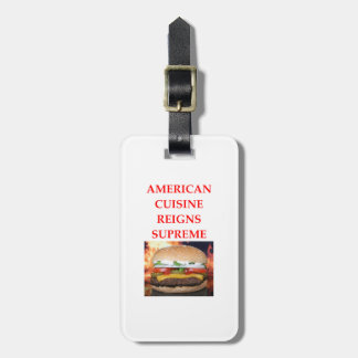 AMERICAN LUGGAGE TAG