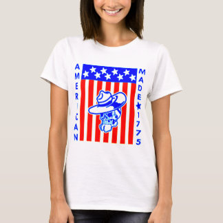 American Made 1775 Skull Flag Soldier T-Shirt