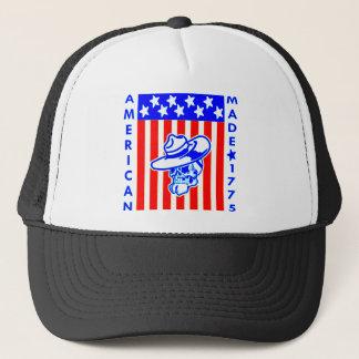 American Made 1775 Skull Flag Soldier Trucker Hat
