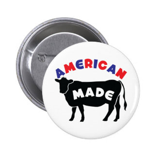 American made beef button