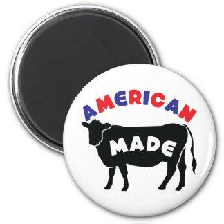 American made beef fridge magnets