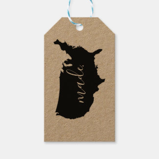 american made gift tags