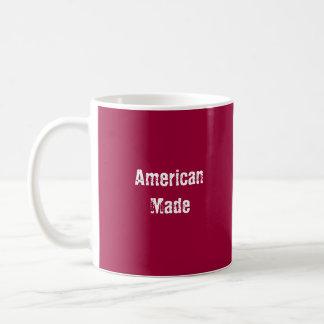 American Made Mug Red