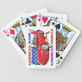 American Made Muscle Car Playing Cards