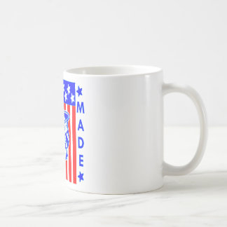 American Made Skull Flag Sailor Coffee Mug